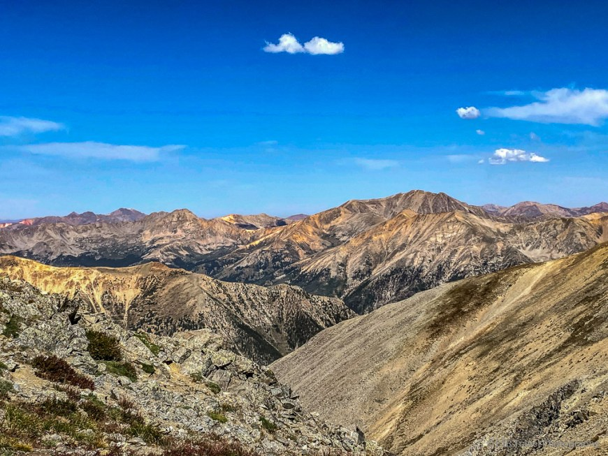 magnificent views from the ridge to missouri mountain
