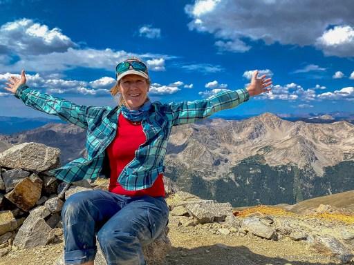 The summit of Missouri Mountain