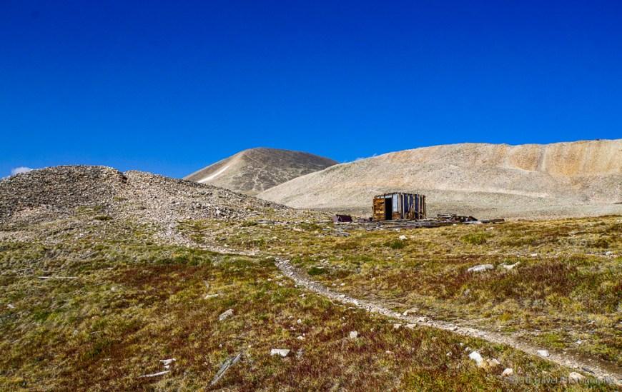 old shack on Mt. Sherman