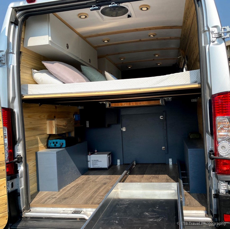 the of Wanderful Wheels camper van
