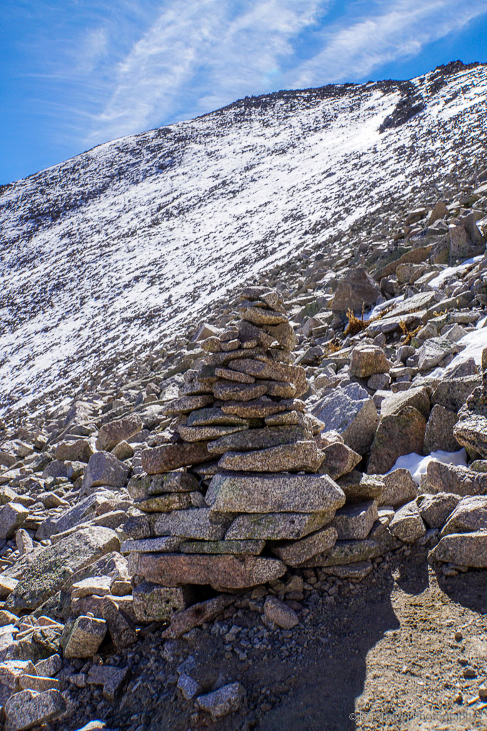 cairn on mount princeton trail