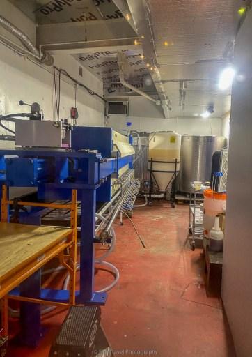 sake fermenting room