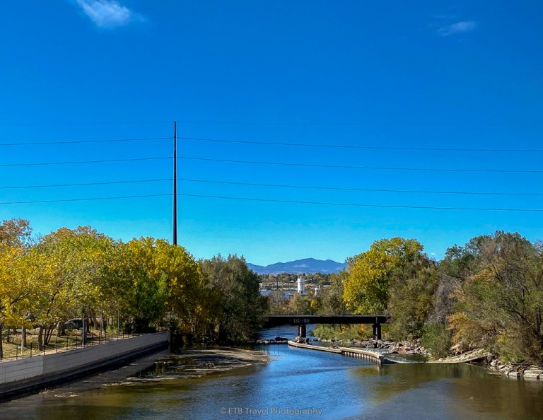 view of the platte river