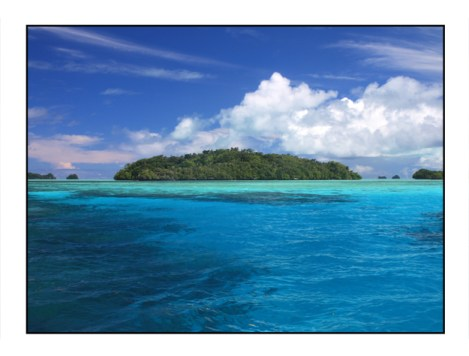 photographic note card, Palau Rock Islands