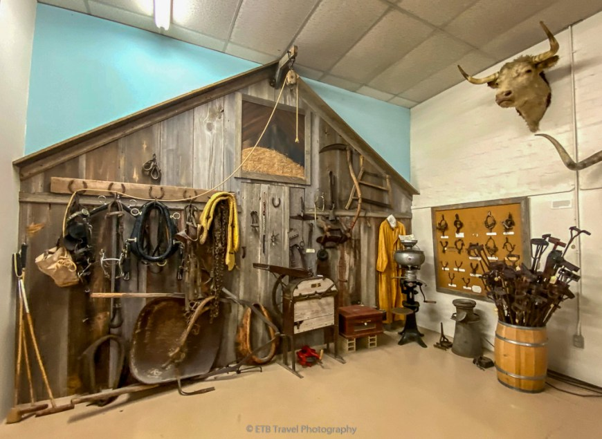 ranch items at xit museum