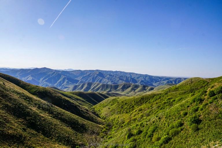 rolling hills at Adelmann Mine