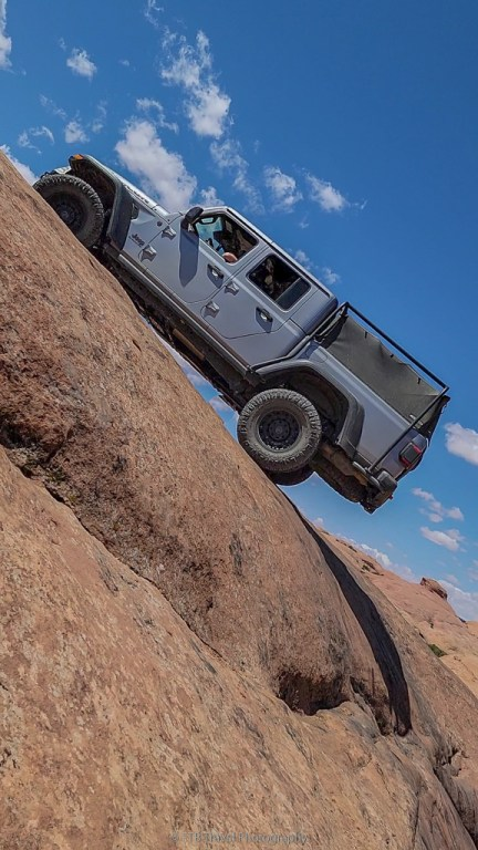 Jeeping on Hell's Revenge