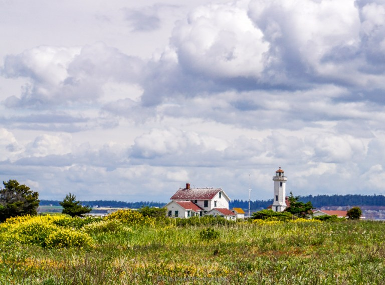 light house at fort worden historical state park