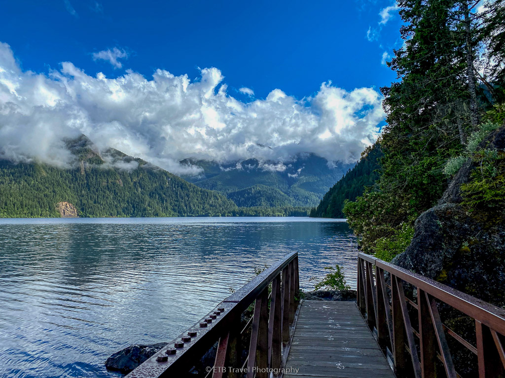 lake crescent, a dog friendly hike on the olympic peninsula