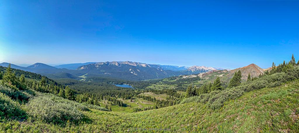 view from scarp ridge trail