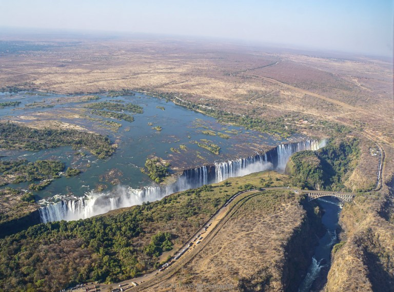 things to do in Livingstone: helicopter ride over Victoria Falls