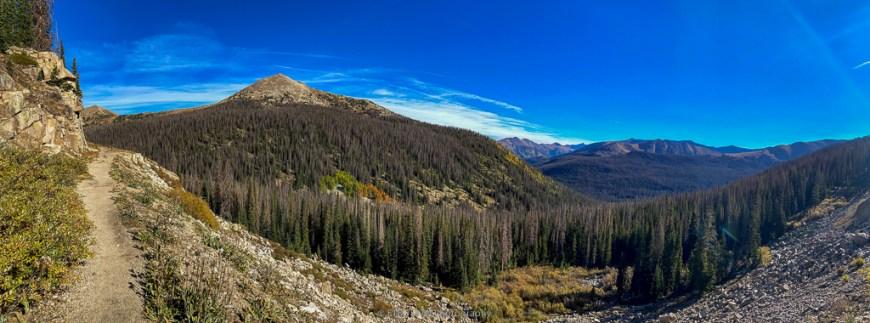 alpine tunnel trail near buena vista