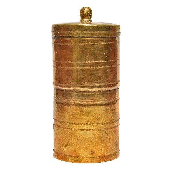brass south indian coffee filter