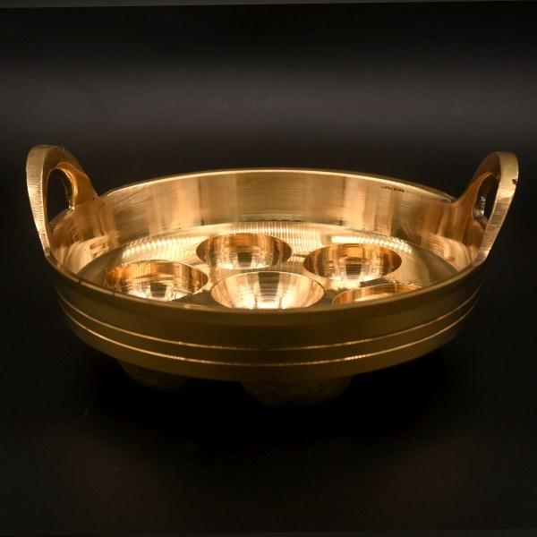bronze paniyaram pan