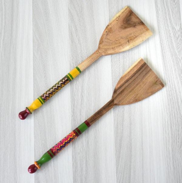 wooden spatula for dosa
