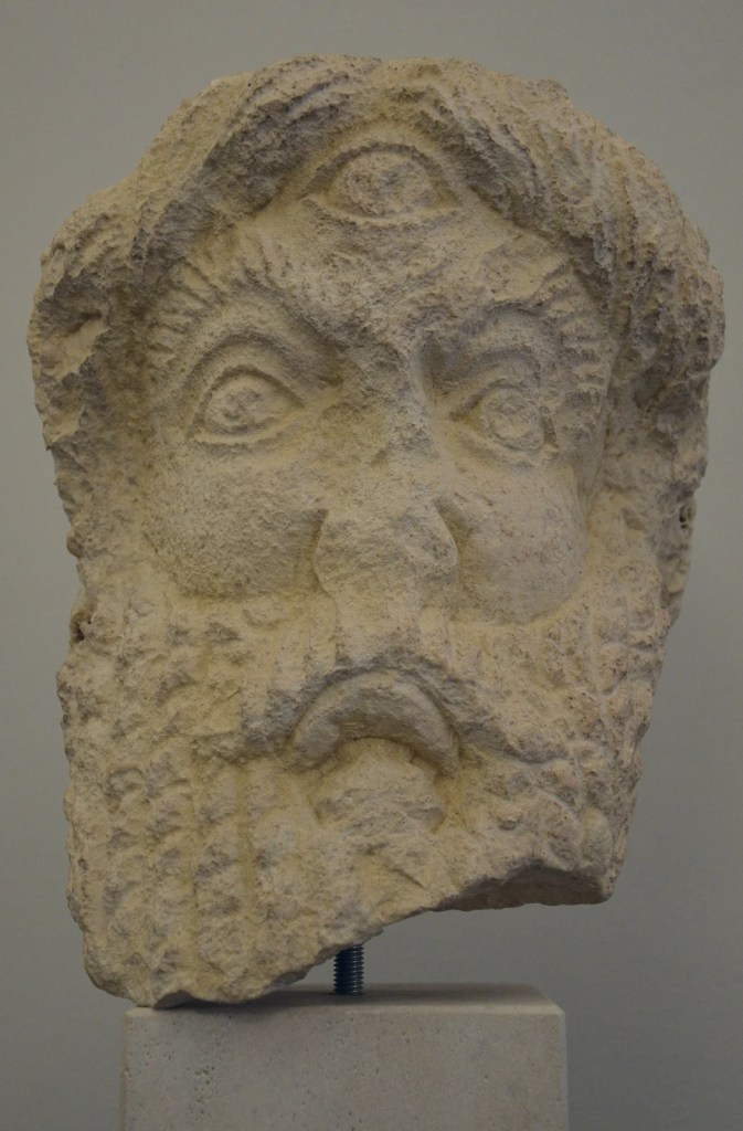 The cyclops Polyphemus. Split Archaeological Museum. Photgorahper: Carole Raddato.