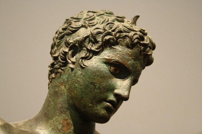 Greek Athlete (Detail)
