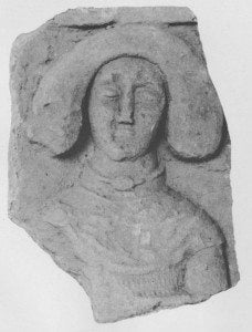 Relief sculpture of a military figure. From Safar and Mustafa, Hatra: The City of the Sun God, pl. 92, p. 116.