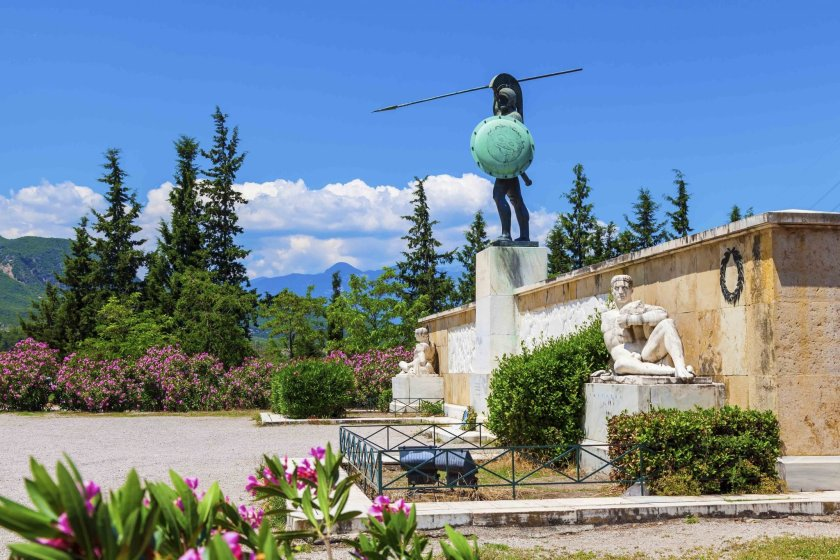 Statue of Leonidas, Thermopylae.