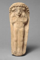 Terracotta figurine of the goddess Astarte, ca. 600–480 B.C., Cypriot, The Metropolitan Museum of Art