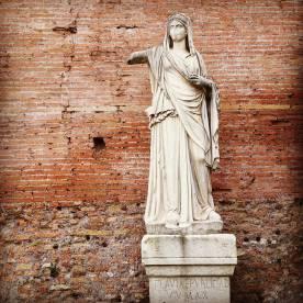 FLAVIA REPVBLICAE V V MAX SANCTISSIMAE - as seen during our Rome visit