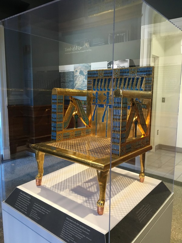 Recreating Egyptian Throne Fit Queen Ancient