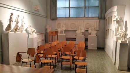Seminar Room Sapienza University as seen during our Rome visit