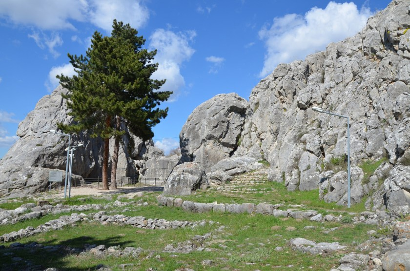 Yazilikaya Hittite Rock Sanctuary.