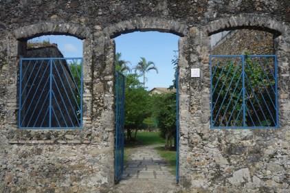 L'entrée du jardin de la petite sirène