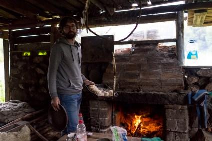 Gaël, le pain maison et le feu