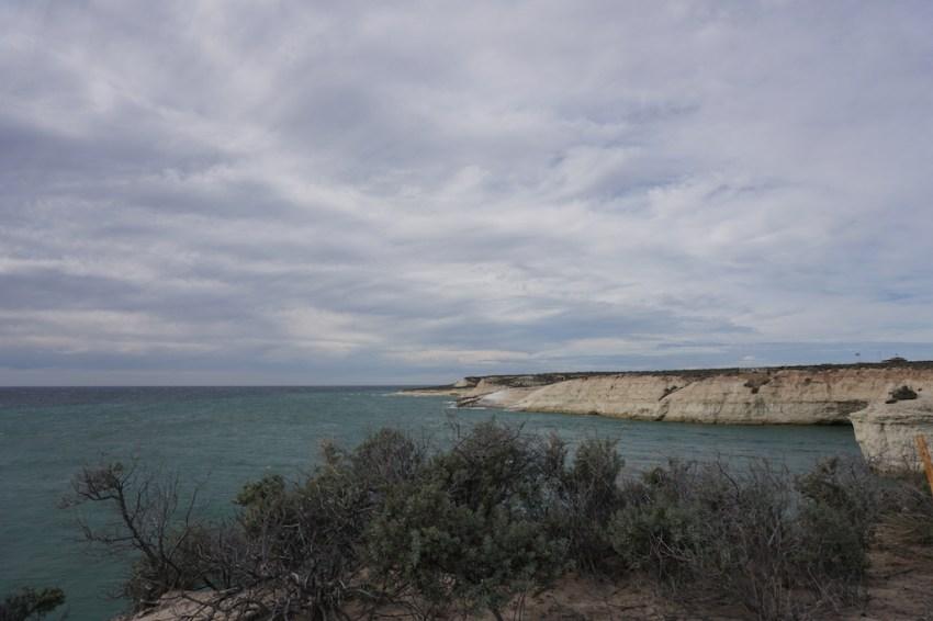 Vue sur la plage de Punta Loma