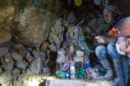 Pachamamac, mari de la Pachamama, dieu à gros kiki et copain des mineurs.
