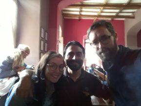 Selfie flou avec notre copain Edwar.