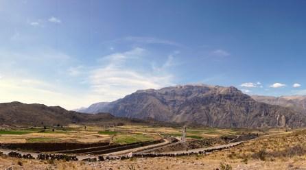 Les cultures en terrasses de Colca ont été créées avant l'ère Inca.