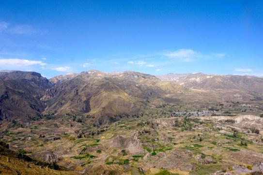 Sur les hauteurs de Colca.