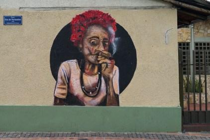 Un des nombreux, et talentueux, graffitis de Cuenca.
