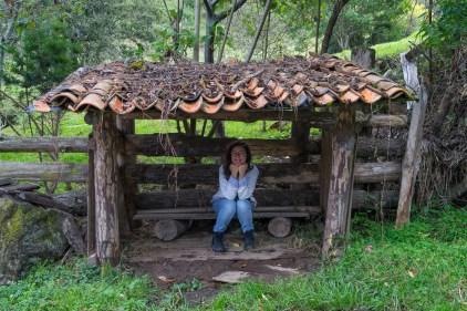 Caroline et la petite cabane dans la prairie.