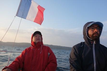 Captain J-M et Gaël le mousse