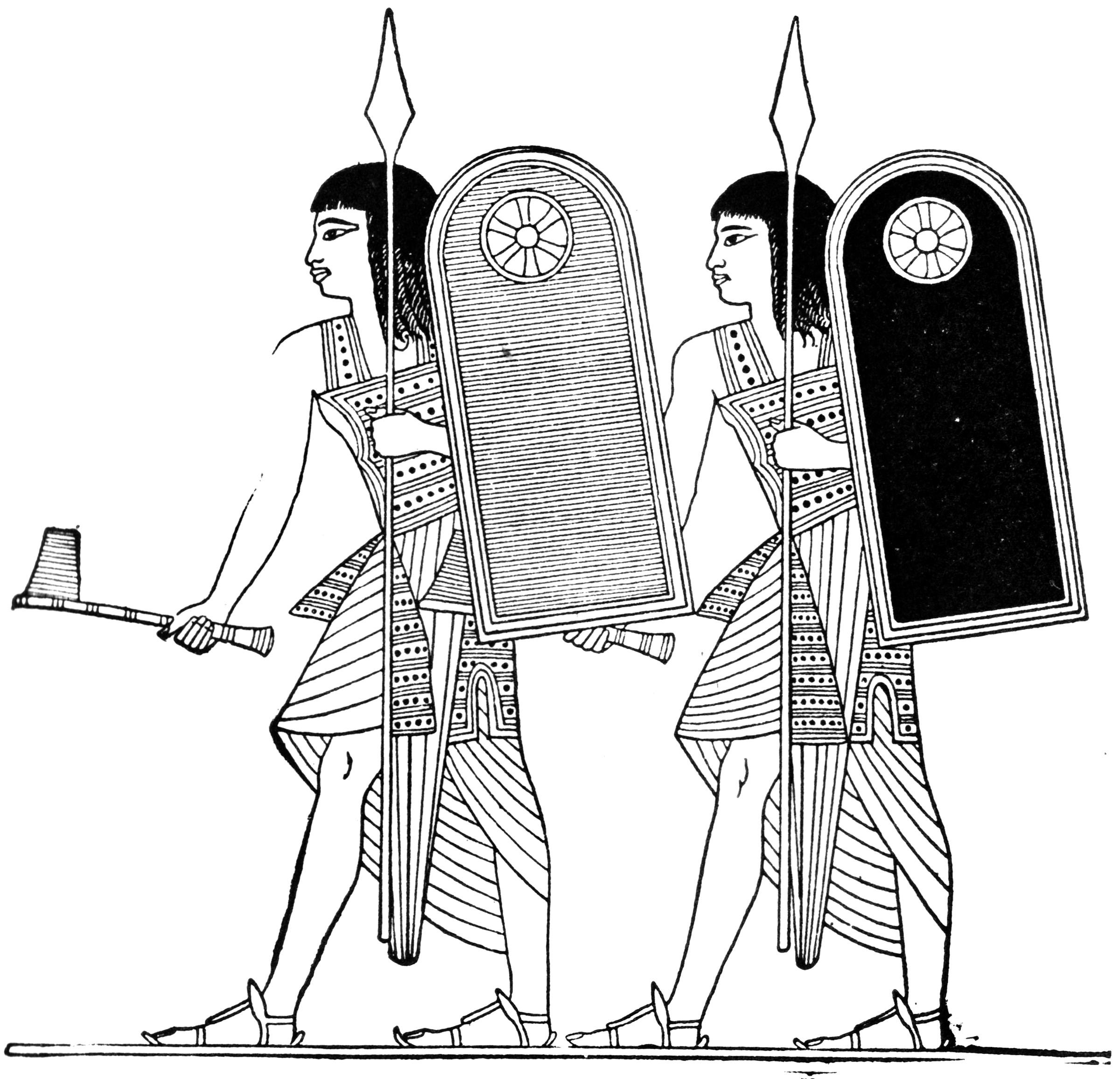 Ramses Soldiers Clipart Etc