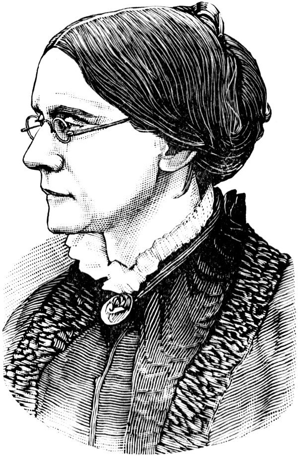 Susan . Anthony Clipart