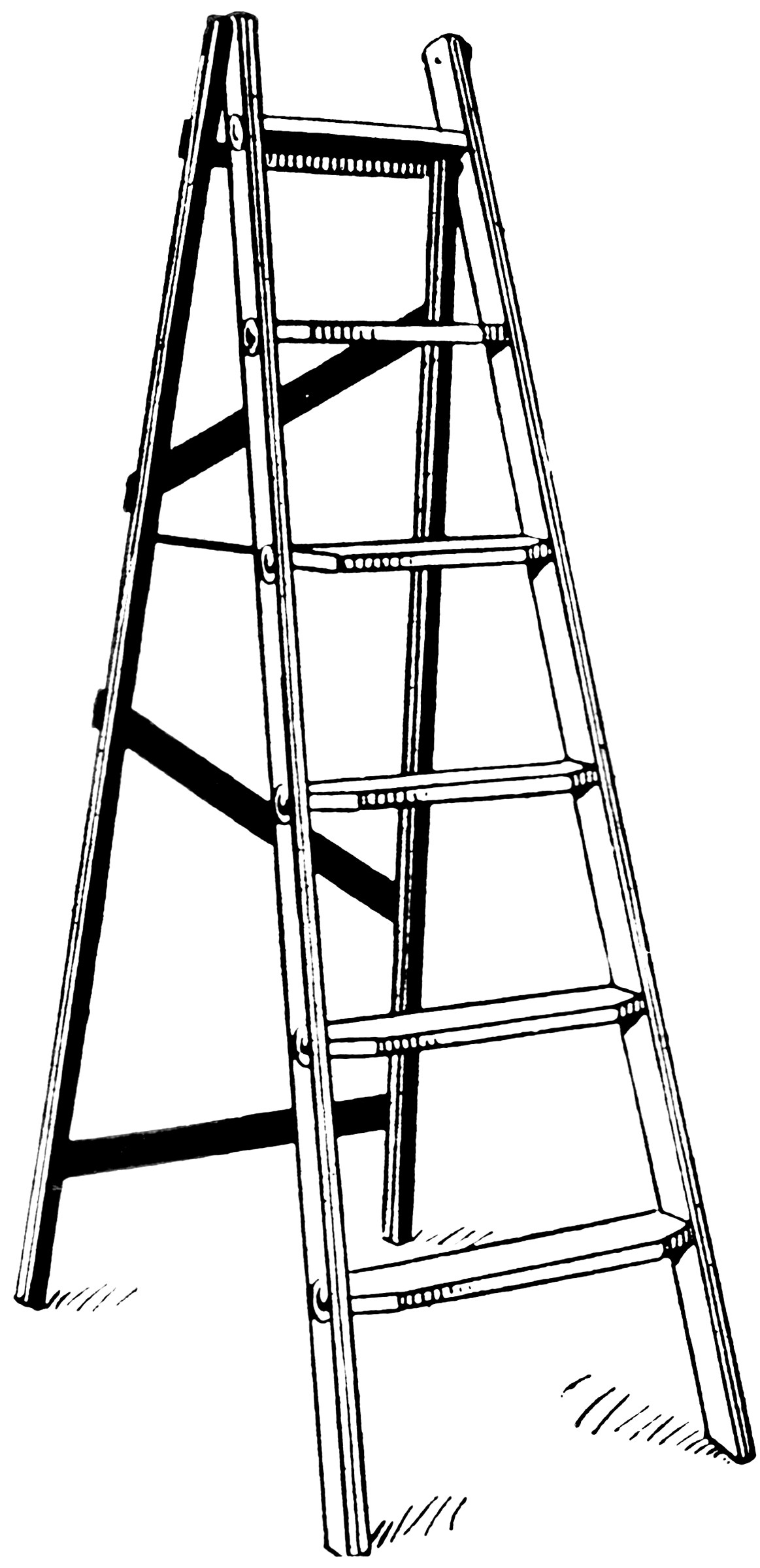 Step Ladder  ClipArt ETC