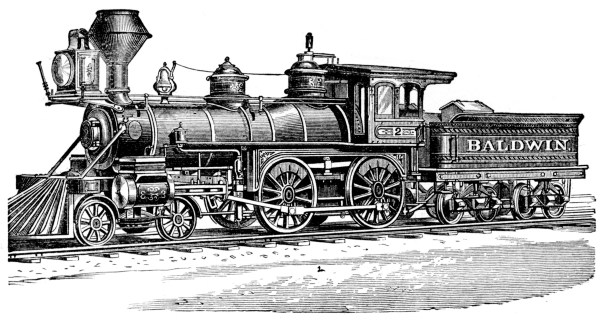 Baldwin Engine Clipart