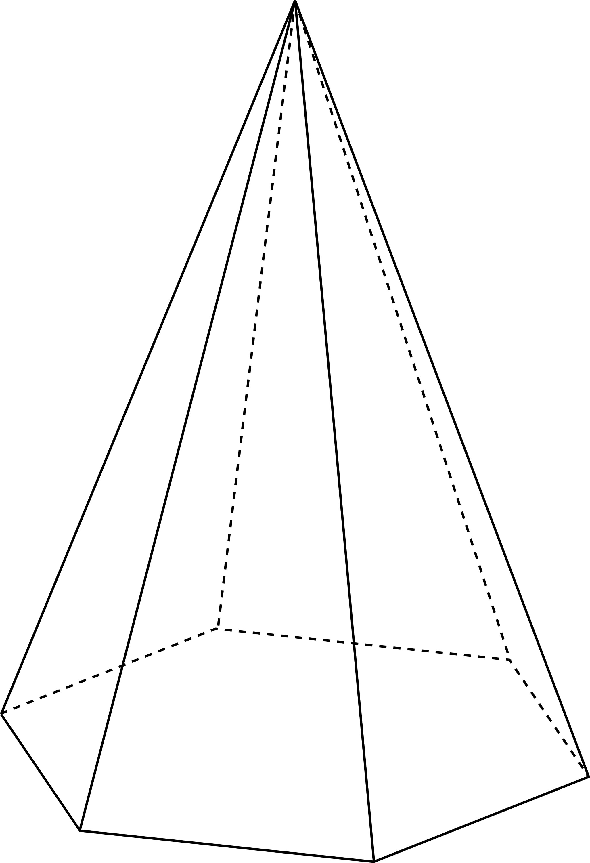 Hexagonal Pyramid Clipart Etc