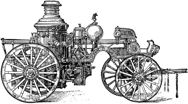 Steam Engine Clipart
