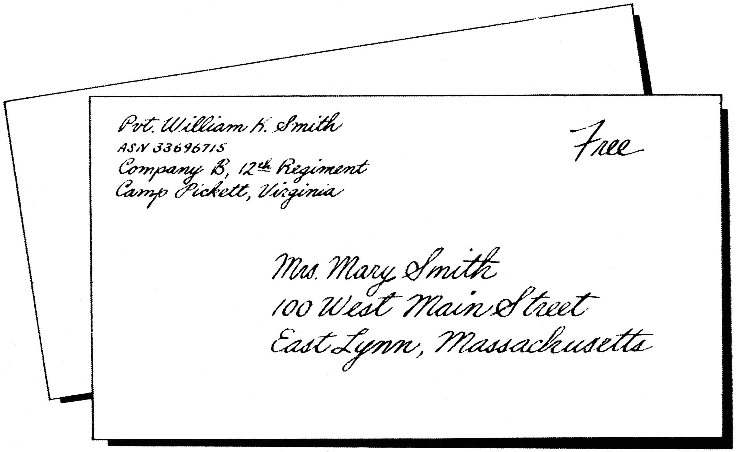 Addressed Envelope  ClipArt ETC