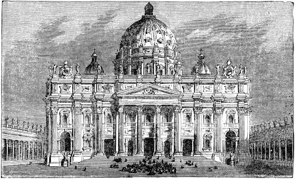 St. Peter' Basilica Clipart