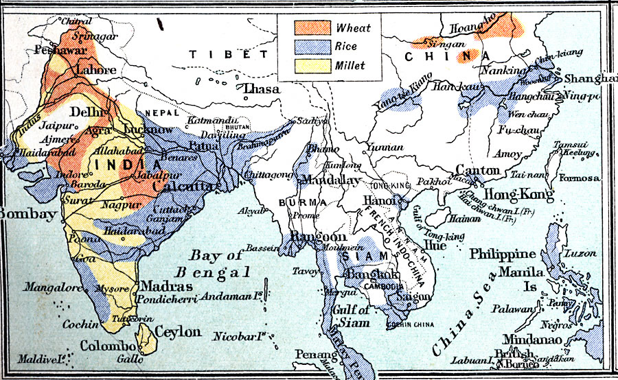 Granaries Of Southern Asia