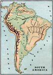 Complete Maps of South America