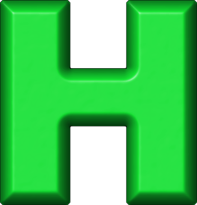 presentation alphabets green refrigerator