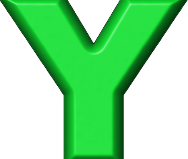 Etc Presentations Etc Home Alphabets Refrigerator Magnets Green Letter Y